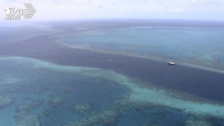 圖/TVBS 澳洲新法保護大堡礁 限制農業廢水排放