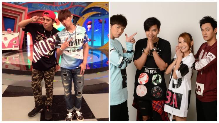 小鬼和羅志祥曾搭檔住持節目,圖/取自娛樂百分百臉書專頁
