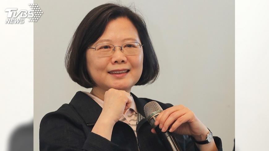 圖/中央社 美學者:蔡總統若連任 不會挑起軍事衝突