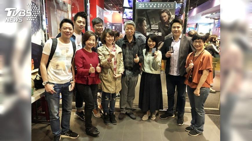 圖/TVBS TVBS董事長包場電影 邀齊主播、記者感受新聞價值