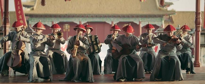 (乾隆是中國史上第一個組建西洋樂隊的皇帝)