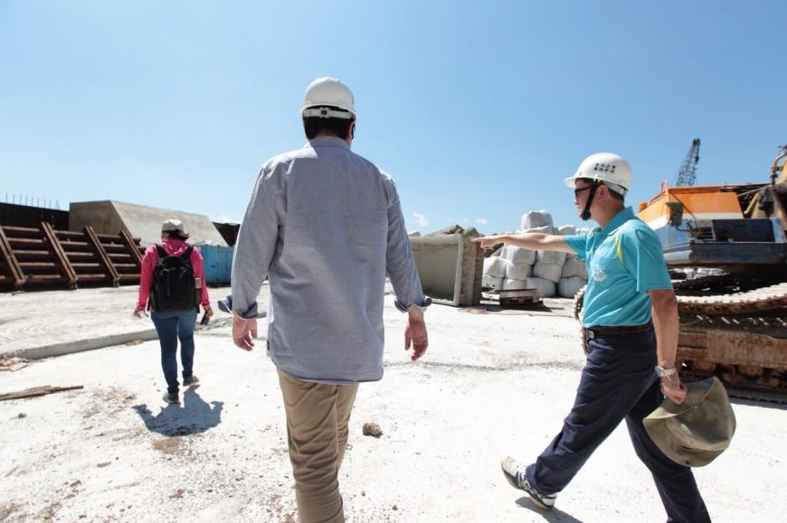 市長林右昌表示將努力在9月底開放登島觀光 封島3年 基隆嶼即將開放登島