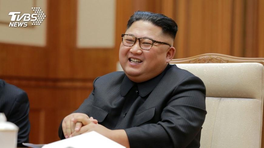 北韓領導人金正恩。圖/TVBS 北韓女算命師稱2童「能預言」 竟遭公開槍決