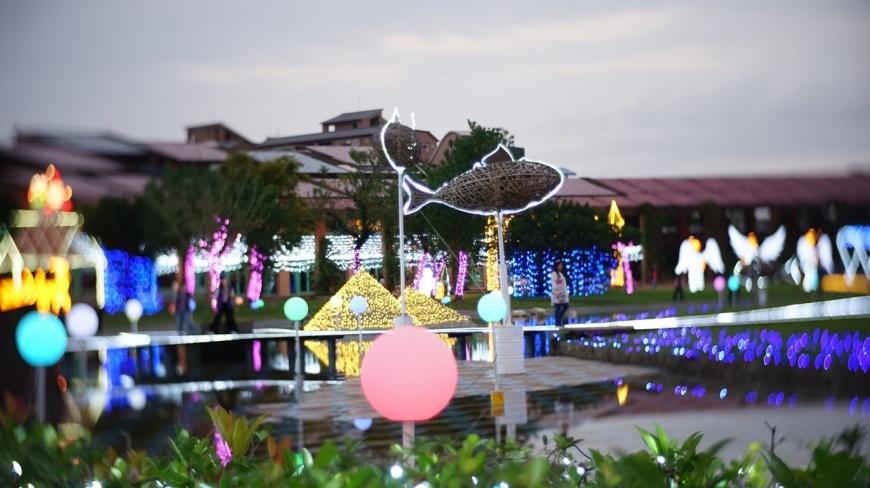 2018宜蘭奇幻耶誕燈飾 一起來感受「超現實視覺」