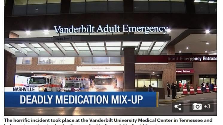 范德比爾特大學醫學中心。圖/翻攝自《每日郵報》