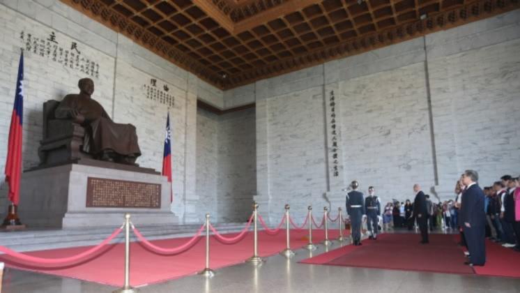 尤柏祥認為移除威權象徵,就是軍隊國家化的最後里程碑。圖/中央社