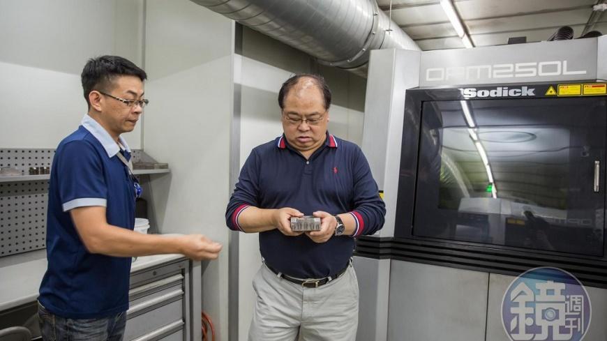 圖/鏡周刊 金屬3D列印不僅是公司核心 買下它還要美日國防部同意