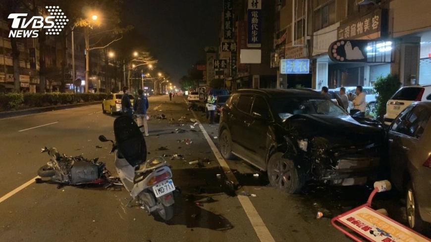 台中過年前發生1起嚴重酒駕事件。圖/TVBS