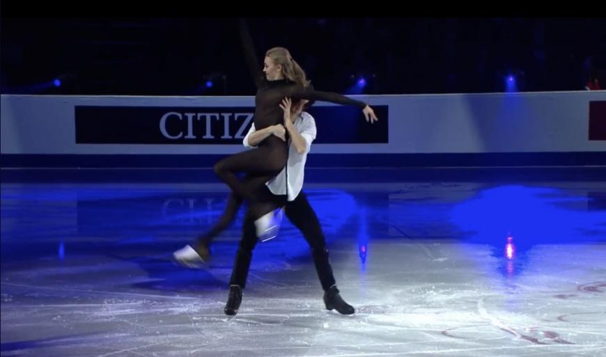 俄羅斯花式溜冰選手Alexandra Stepanova比賽「服裝」讓人看了好害羞,因為實在太透了!圖/截取自@roukq twitter