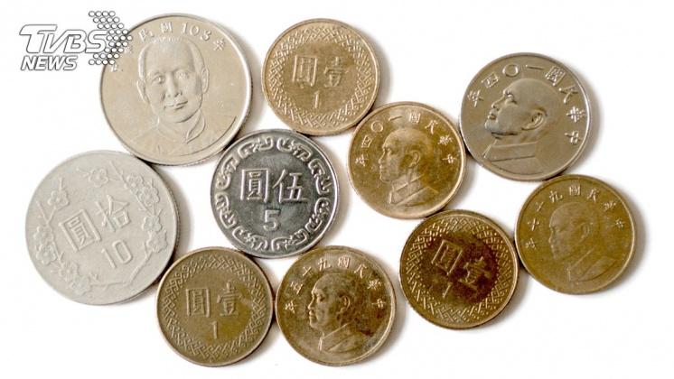 硬幣有鏘鏘鏘的聲音。示意圖/TVBS