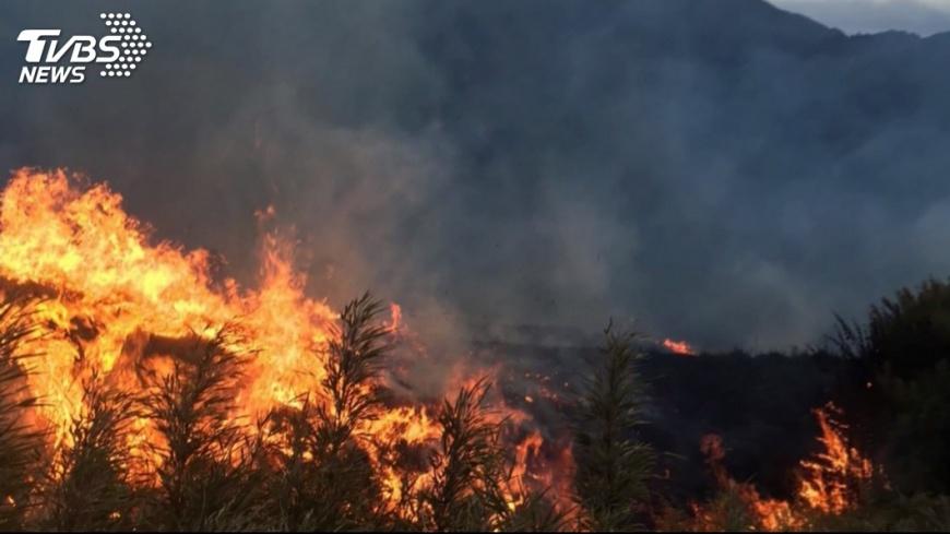 示意圖/TVBS 印尼森林大火霾害侵鄰國 馬來西亞令400學校停課
