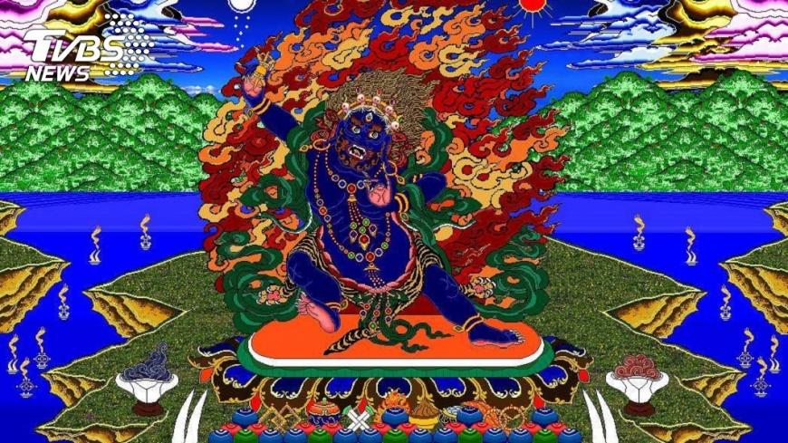 平均一幅佛畫像約要花上2個半月才能完成。圖/李姓網友授權提供