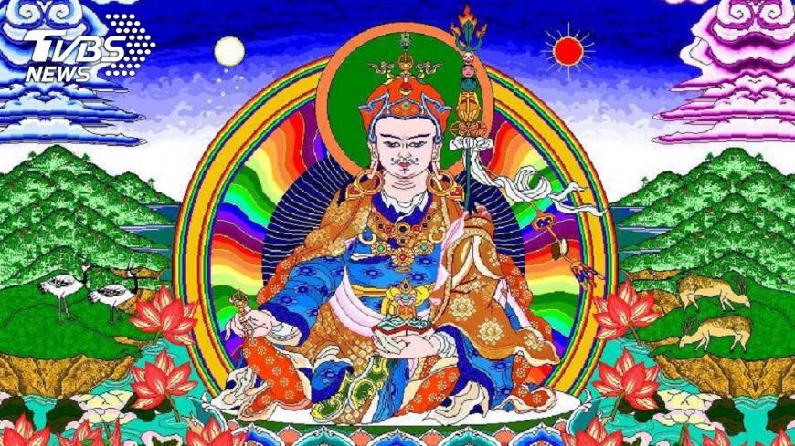李爸爸畫佛像、菩薩圖約有20多年的時間。圖/李姓網友授權提供