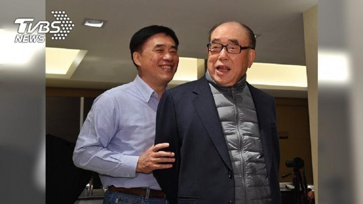 圖/TVBS資料畫面 「郝總長」威嚴深植人心 郝柏村在家扮慈父