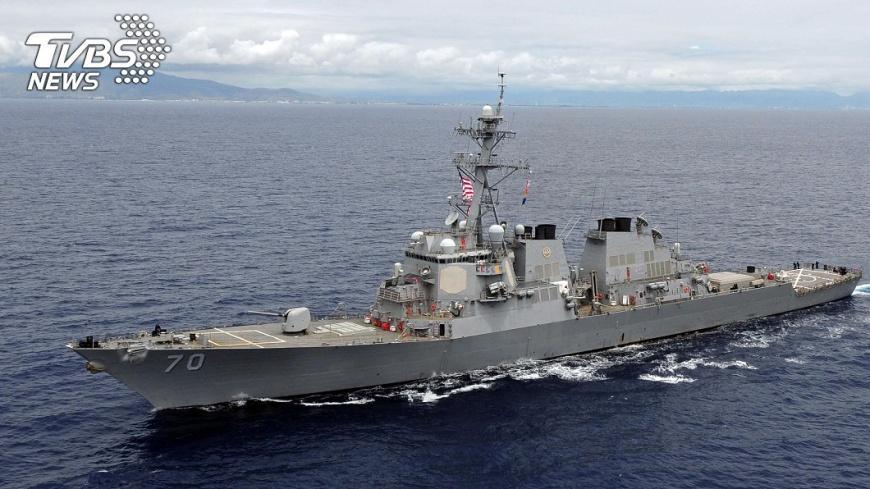 美艦多次穿越台灣海峽,現在法艦也來參一腳。圖/中央社 【觀點】法艦通過─台海競逐邁向國際化和立體化