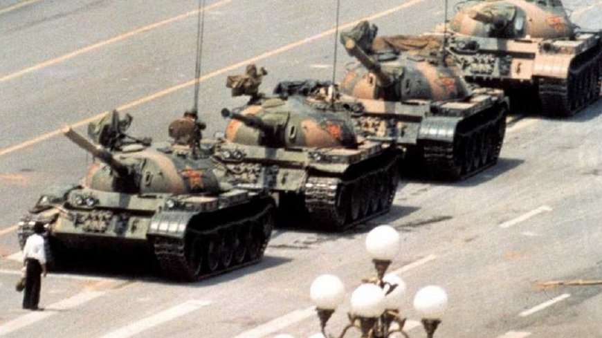 資料照片/TVBS 歷史一刻!拍下六四「坦克人」 攝影記者柯爾辭世
