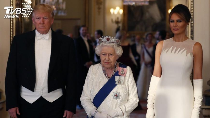英女王設國宴款待 川普讚揚偉大女性