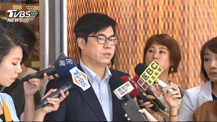 圖/TVBS 陳其邁籲韓國瑜回頭是岸 顧好高雄登革熱疫情