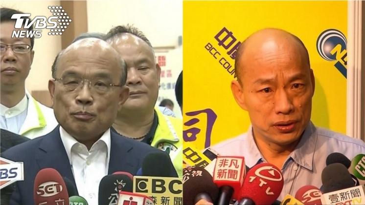 圖/TVBS 韓國瑜農舍爭議 蘇貞昌:庶民家有豪宅開了眼界