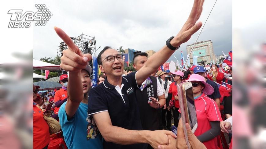 圖/中央社 國民黨初選傳棄保 朱立倫:任何操作沒意義