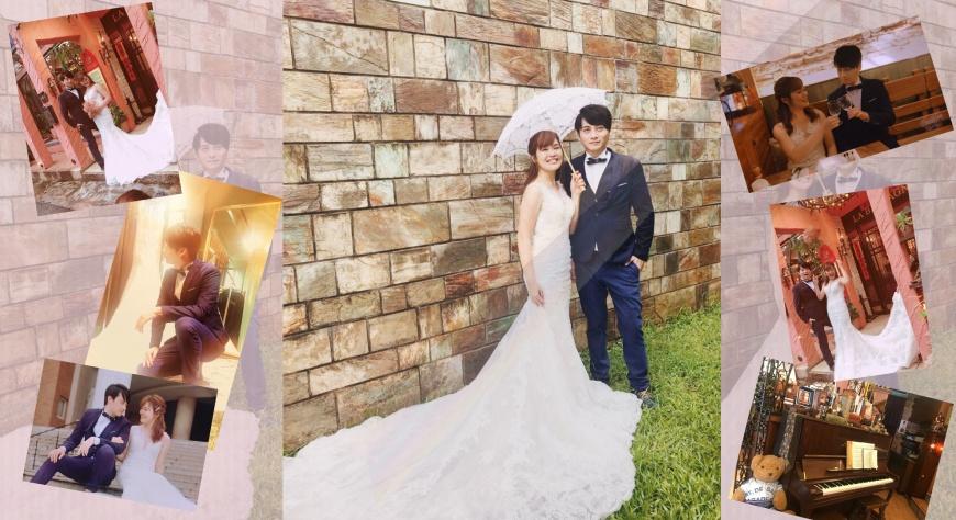 雨中的浪漫!YouTuber溫蒂、藝人孟澔一日婚攝體驗 幸福臺中夢幻婚紗照景點曝光!