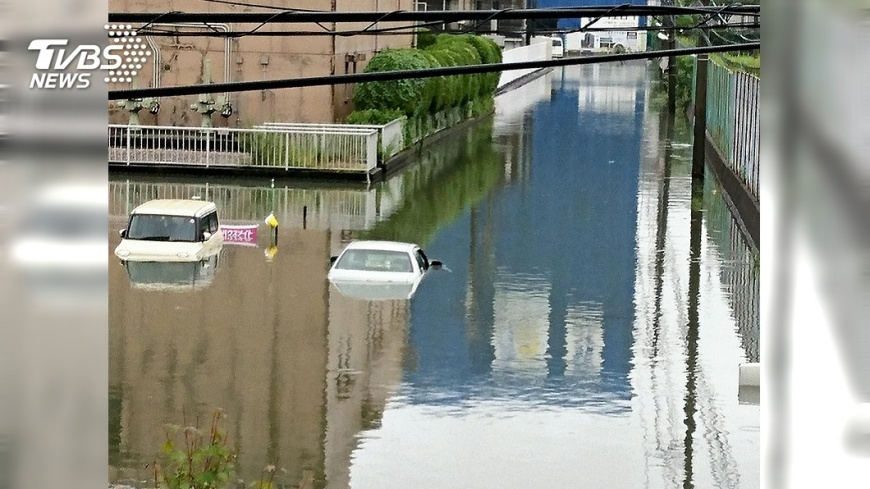 圖/達志影像美聯社 日梅雨季結束了! 今年出現「暖化型豪雨」