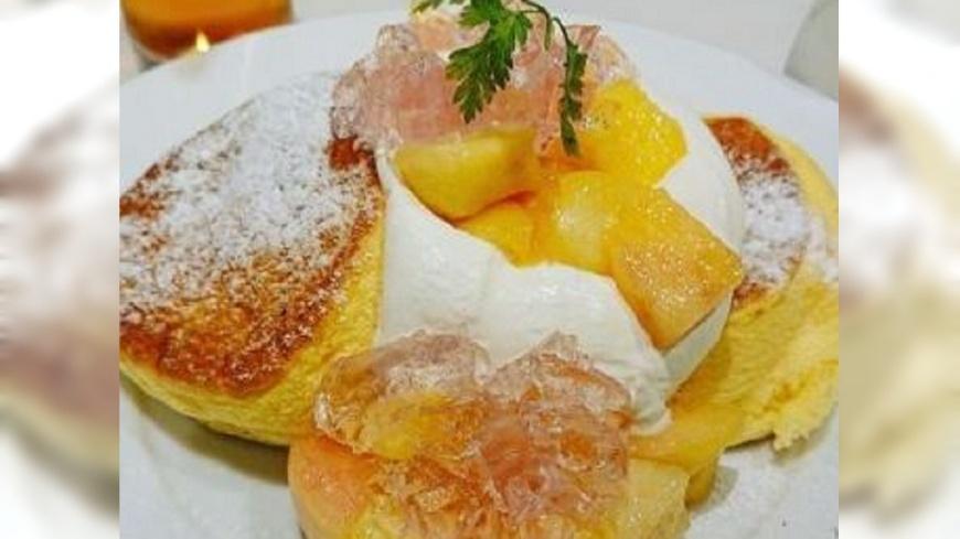 圖/翻攝自 微日本 微博 培根蛋奶鬆餅、雲朵鬆餅 日本再創口感新體驗
