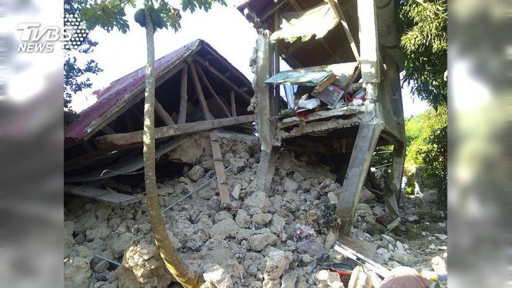 圖/達志影像美聯社 菲國北部連環震 古蹟損毀至少8死60傷