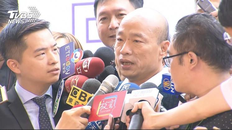 圖/TVBS 市政國政兼顧壓力大? 韓因閃光燈怒了