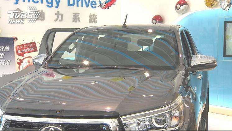 圖/TVBS 肌肉感加SUV內裝!日、德系車推「皮卡」搶市