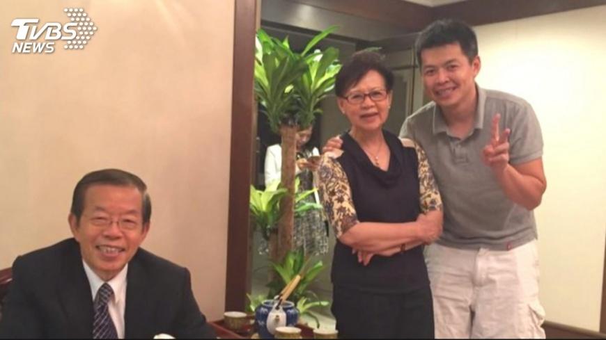 圖/TVBS 終止收養父子緣斷 謝長廷:目前是朋友關係