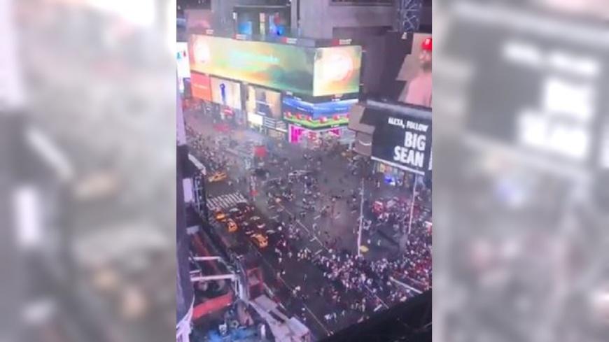 圖/翻攝自 The Daniels Group 推特 引擎巨響以為恐攻 紐約百人奔逃釀踩踏
