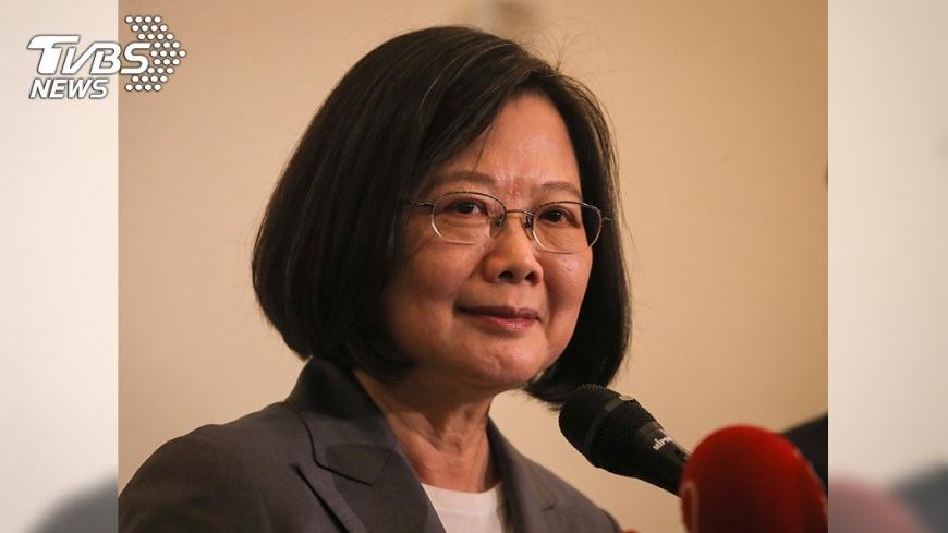 圖/中央社 首場組織造勢 蔡總統:再給4年讓台灣脫胎換骨