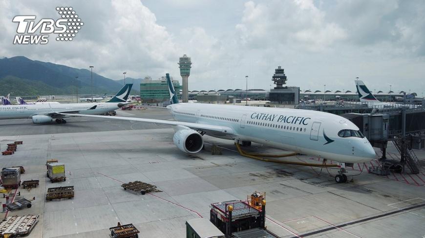 圖/中央社 反送中爭議引火上身 國泰航空行政總裁辭職下台