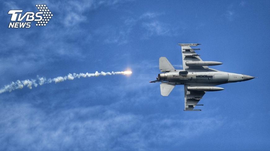 圖/中央社 美國防部:國務院批准軍售台灣80億美元F-16戰機