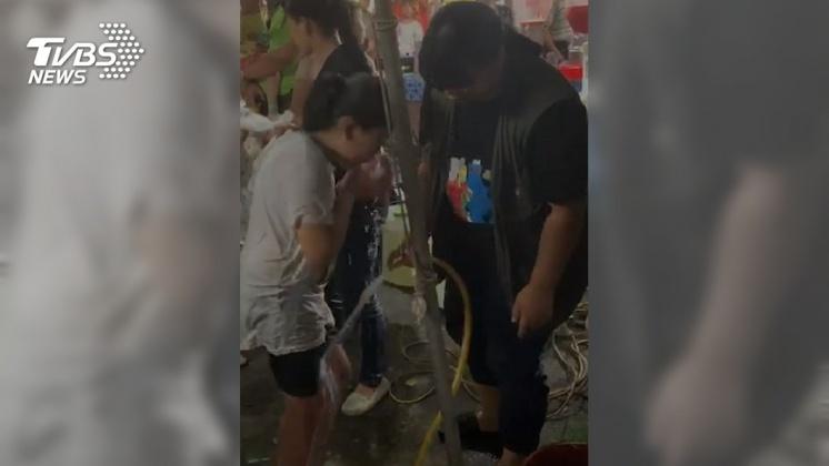 圖/TVBS 快訊/嘉義瓦斯行氣爆 6人受傷 最小傷者1歲