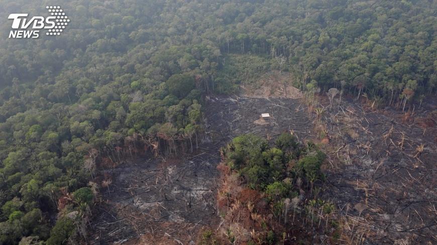 圖/路透社RT 地球之肺正燃燒 歐洲領袖和球員關注亞馬遜野火