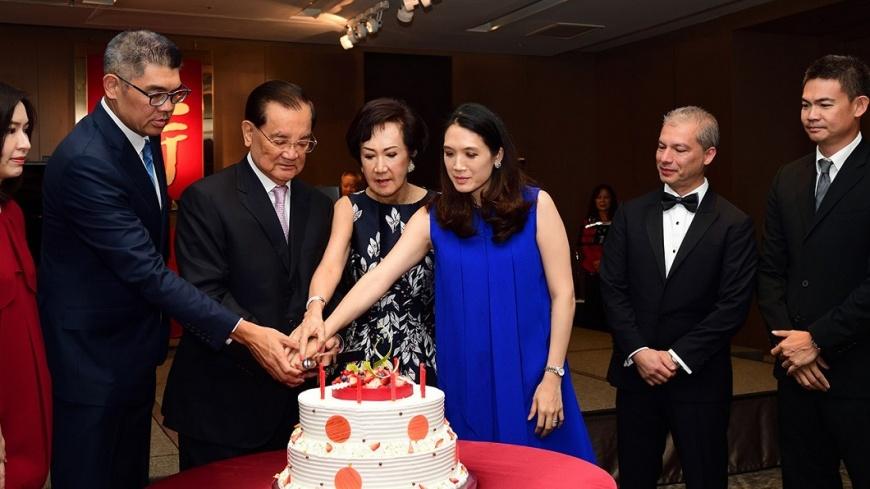 圖/《大師鏈》傳媒提供 連戰84歲生日禮 連家第9孫即將報到