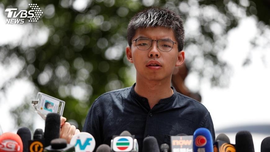 黃之鋒被形塑成中國罪人。圖/TVBS 黃之鋒被捕馬國網友叫好 中共洗腦「異己就是罪人」