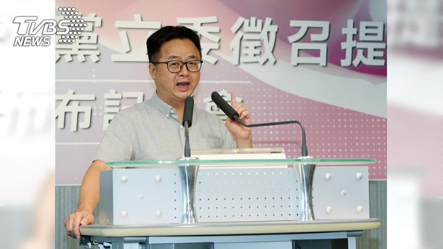 圖/TVBS 民進黨不分區立委名單 羅文嘉:最遲11月中提出