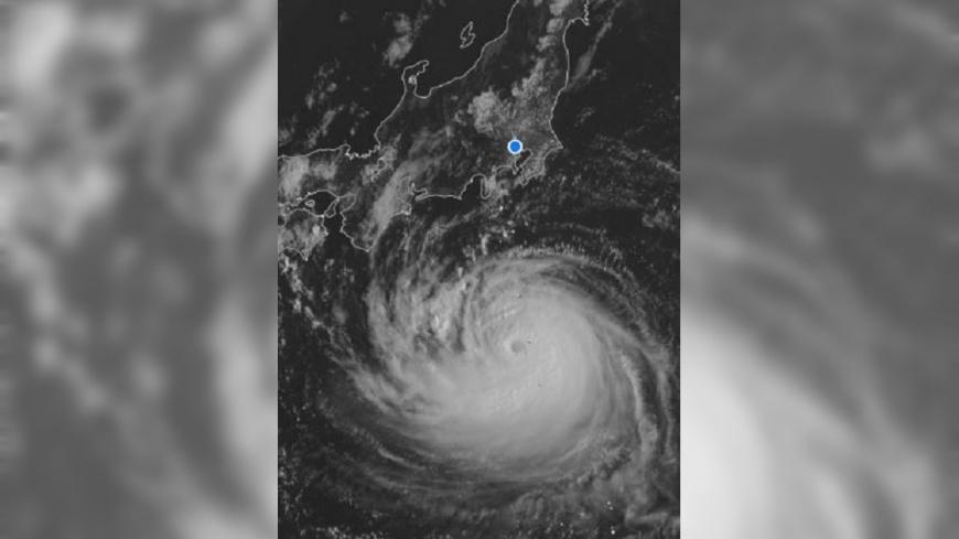 圖/翻攝自 James Reynolds 推特 法西將直襲日關東 飛東京航班出現延誤