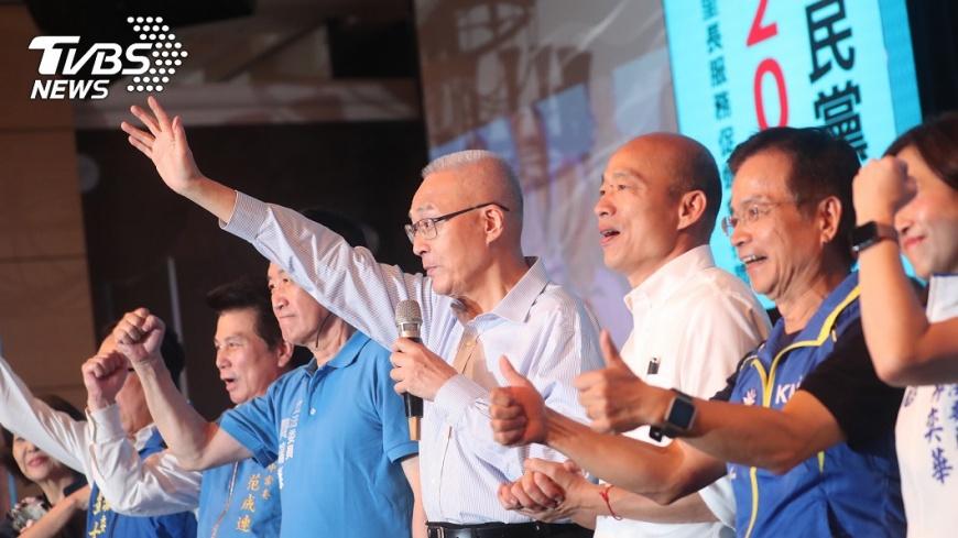 韓國瑜近期的表現,讓傳統國民黨黨員們感到有些錯愕。圖/中央社 【觀點】韓國瑜逼出郭台銘的中間與中庸之路