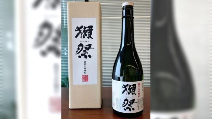 圖/翻攝自 吐槽鬼 微博 安倍曾當禮物送普欽 日本「獺祭」回收26萬瓶