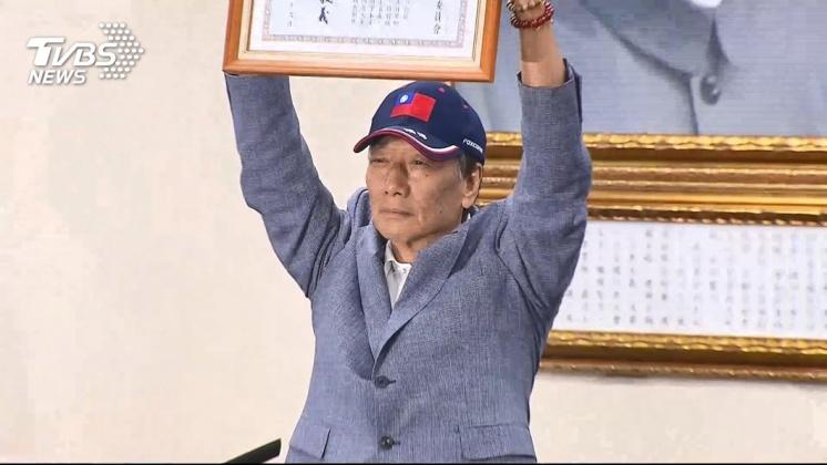 鴻海創辦人郭台銘今宣布退黨。圖/TVBS資料畫面 跟國民黨說掰! 他嗆郭「吵著要糖吃」:拜託快獨立參選