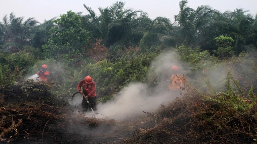 圖/AP 印尼霾害殃及鄰國 大馬多所學校機場被迫關閉