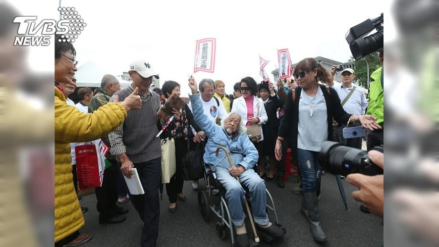 圖/TVBS 台獨歐吉桑 史明一生為台灣獨立奮鬥