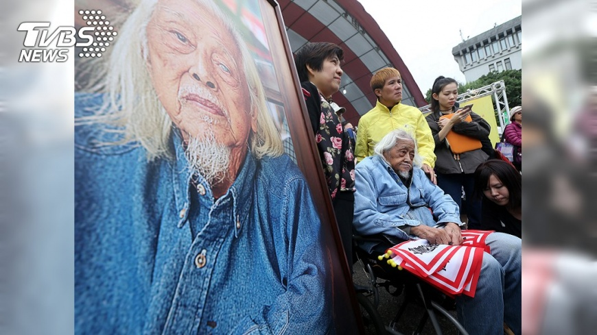圖/中央社 總統府聲明推崇 史明是台灣民主歷史的高大身影