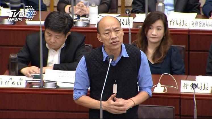 圖/TVBS 高市議會定期大會將登場 韓國瑜首編預算受關注