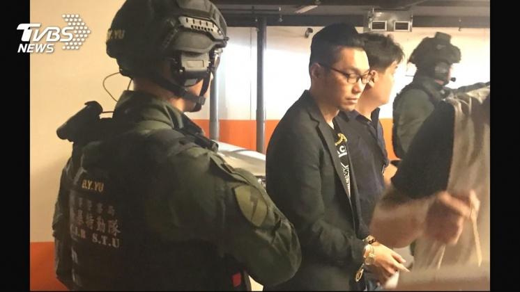 圖/TVBS 快訊/「連千毅」拒夜間偵訊! 今晚拘留室過夜