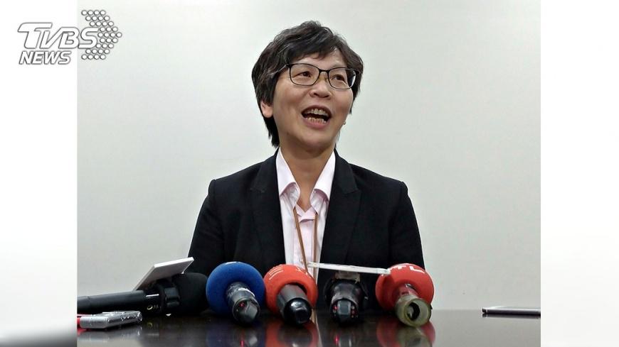 圖/中央社 挨批公務群組邀入黨 蔡壁如:成員皆民間友人